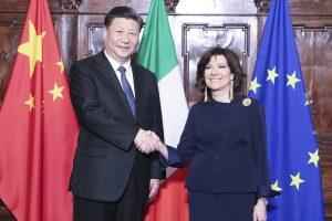 नयाँ 'सिल्क रोड'का लागि चीन र इटालीबीच हस्ताक्षर